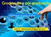 Graduação e pós - pague após receber