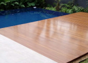 Pensando em colocar um belo de deck em sua casa?