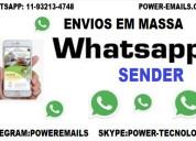 Sistema marketing whatsapp envios em massa profissional