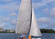 Mini catamaran borinha cat