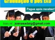 Certificados de ensino superior em pouco tempo