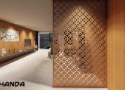 Quer decorar sua casa com um belo painel muxarabi