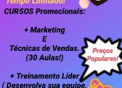 Curso administração marketing e técnicas de vendas
