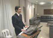 Musica ao vivo cantor e tecladista para casamentos