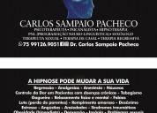 Hipnoterapia feira de santana 75 991269051 whatsap
