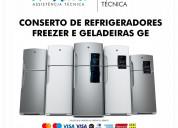 Assistência profissional para refrigerador
