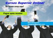 Diplomas universitário ead - pague após receber