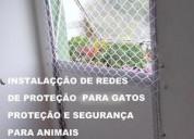 Rua tiagem ,telas de proteção no jaguaré,5524-7412