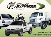 Transportadora express piracicaba