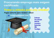 Diploma de graduação ead sem pagar antecipado