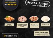 Produtos orientais, pescados e frutos do mar