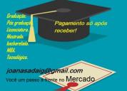 Diploma em graduação - pagamento só após receber
