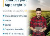 Soluções para agronegócio