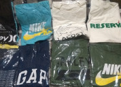 Camisas réplicas de marcas famosas