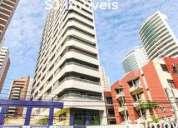 Apartamento semi mobiliado para alugar com 1 dormitorios. com localização privilegiada